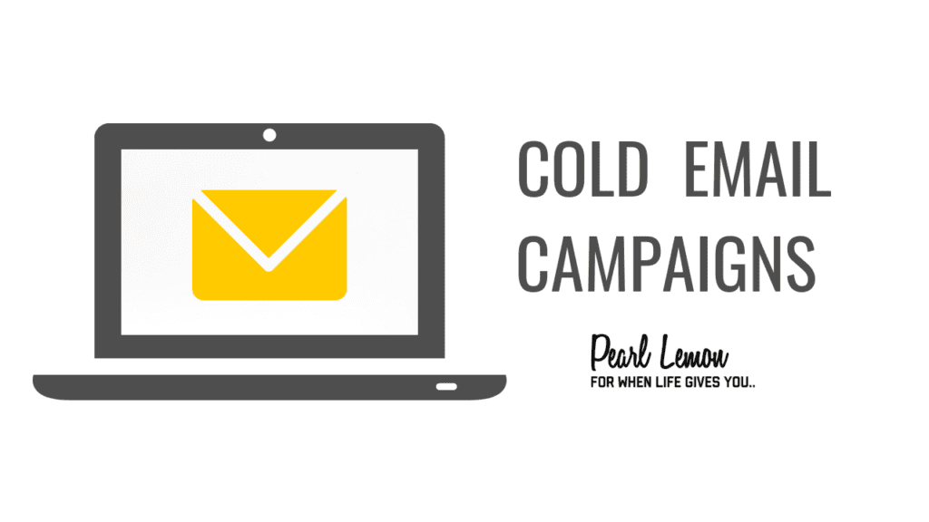 Cold email campaigns with Pearl Lemon