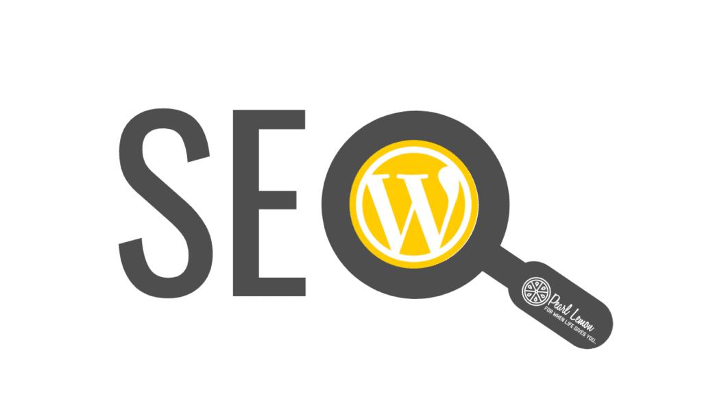WordPress SEO graphic