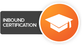Inbound certificate hubspot